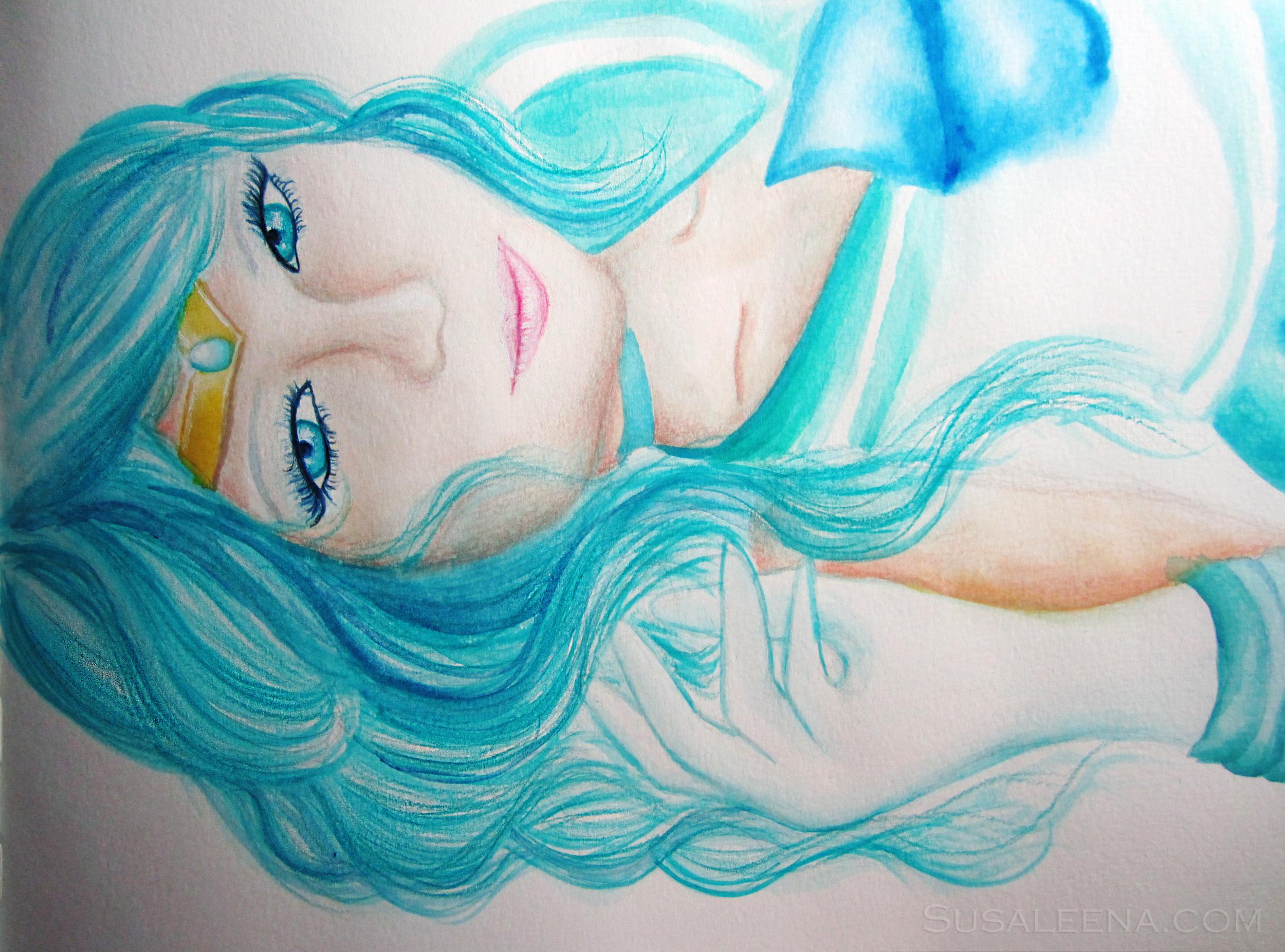 Sailor Neptune - I adore the paint color