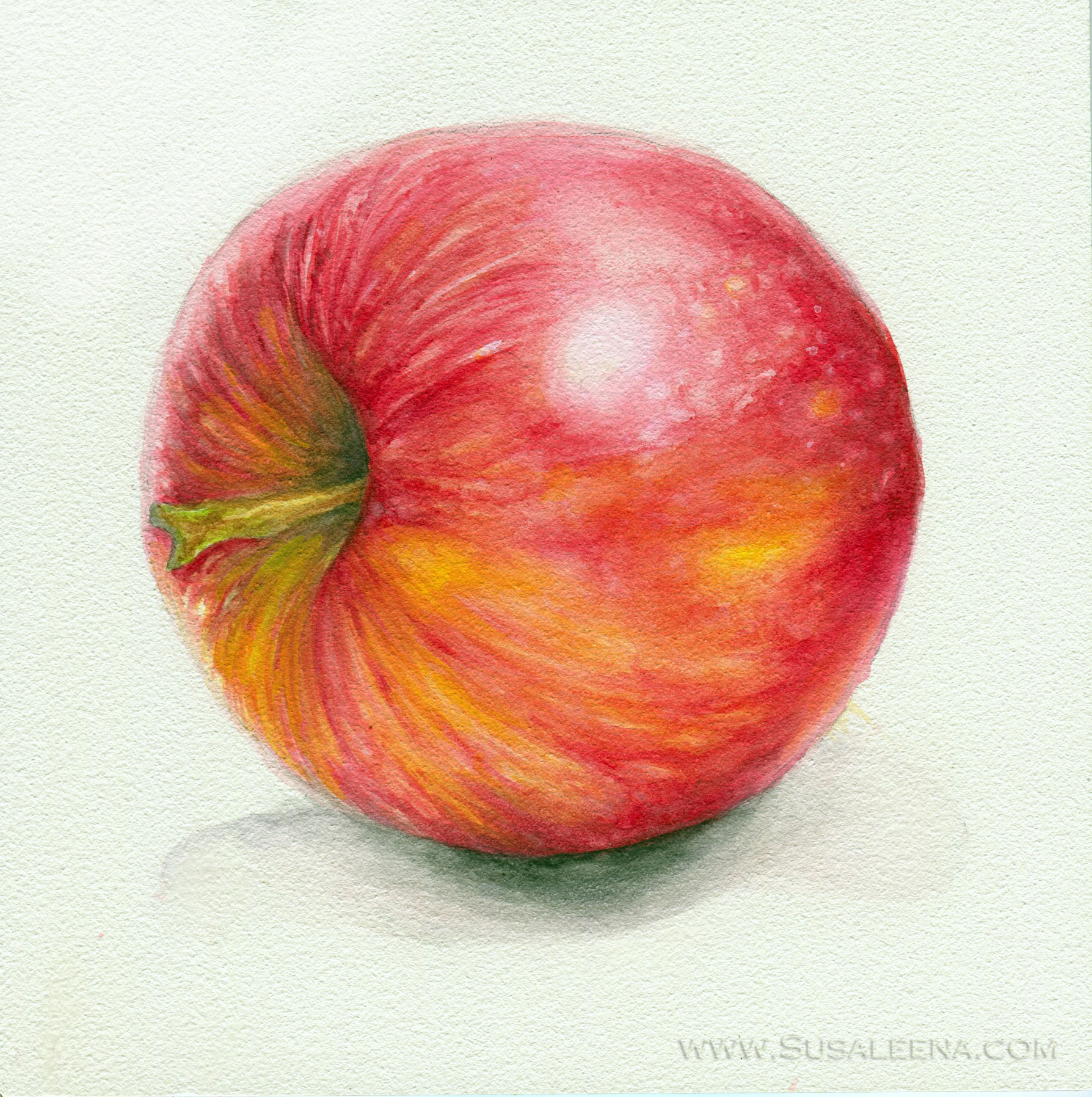 The first still life piece I painted in 2013!