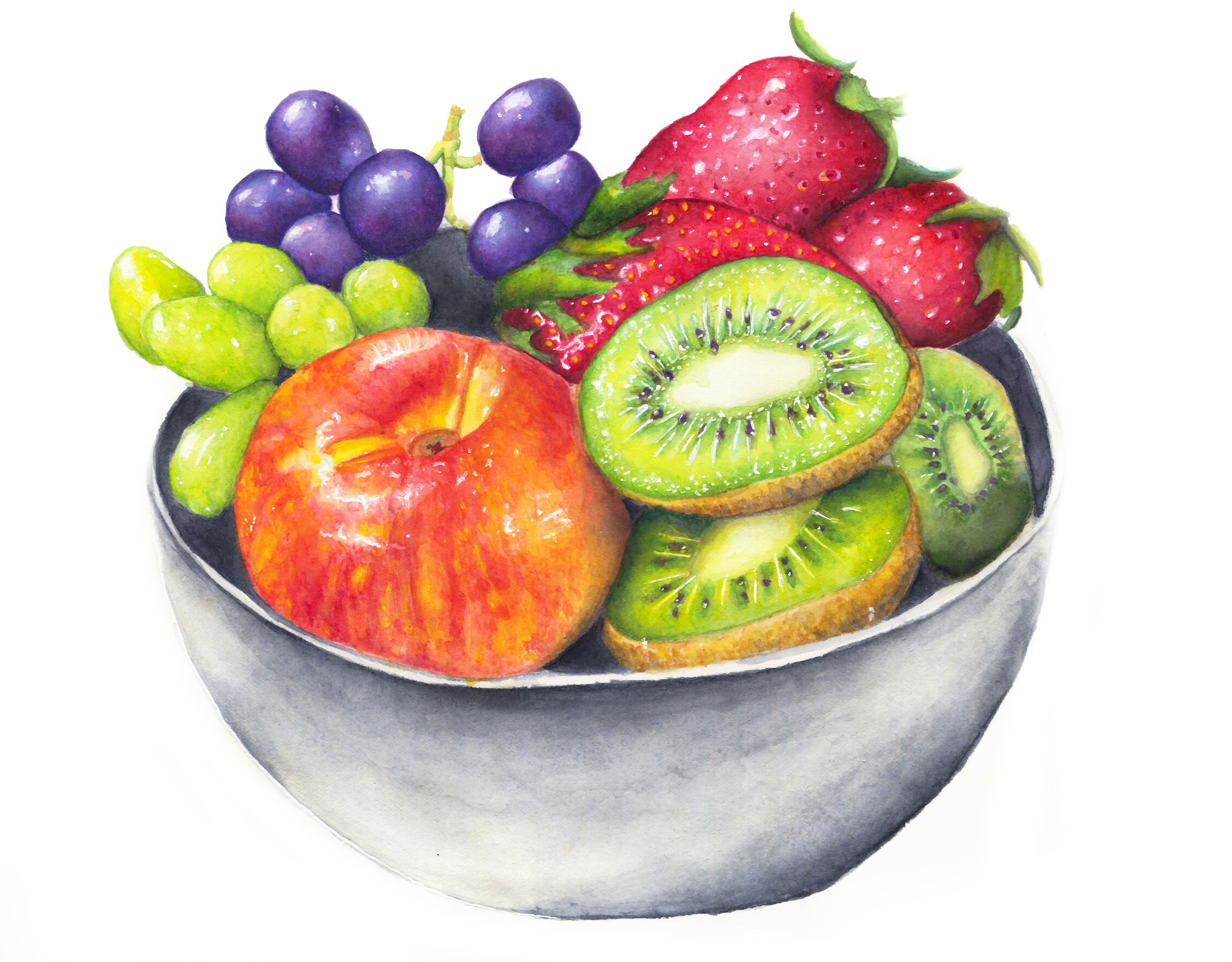 """""""Scrumptious"""" - one of the paintingsthat my father was actually proud of!"""