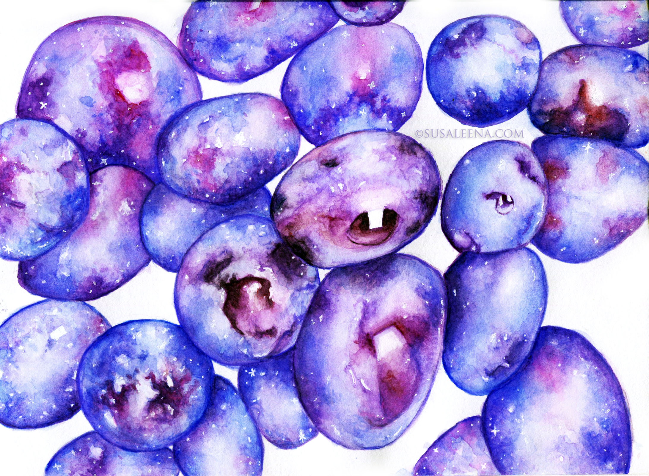 Galaxy Fruit