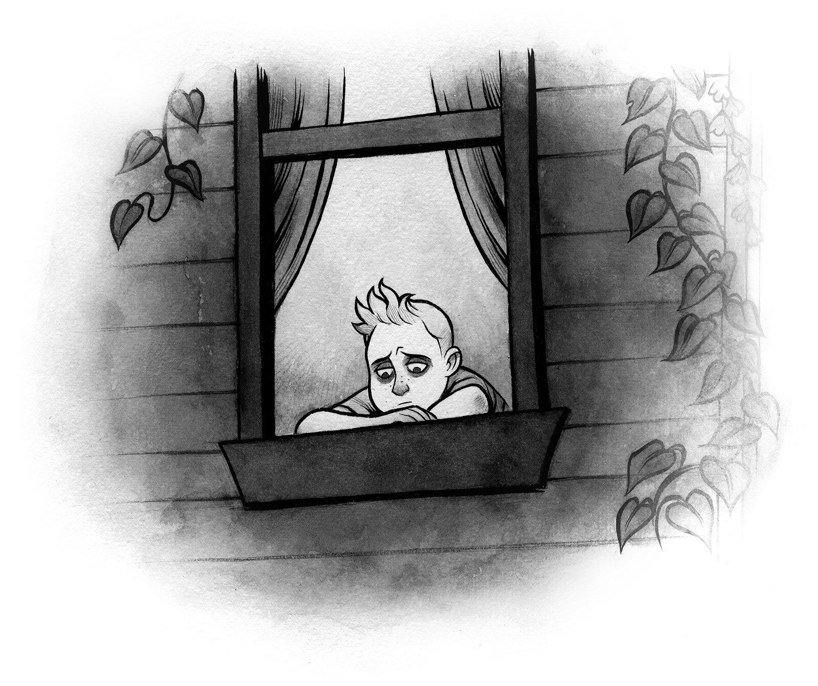 Interior illustration for  Nightmares!