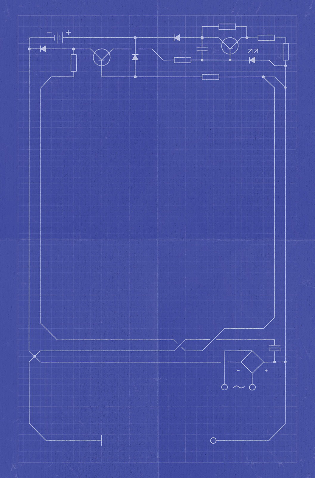 Back cover circuit design