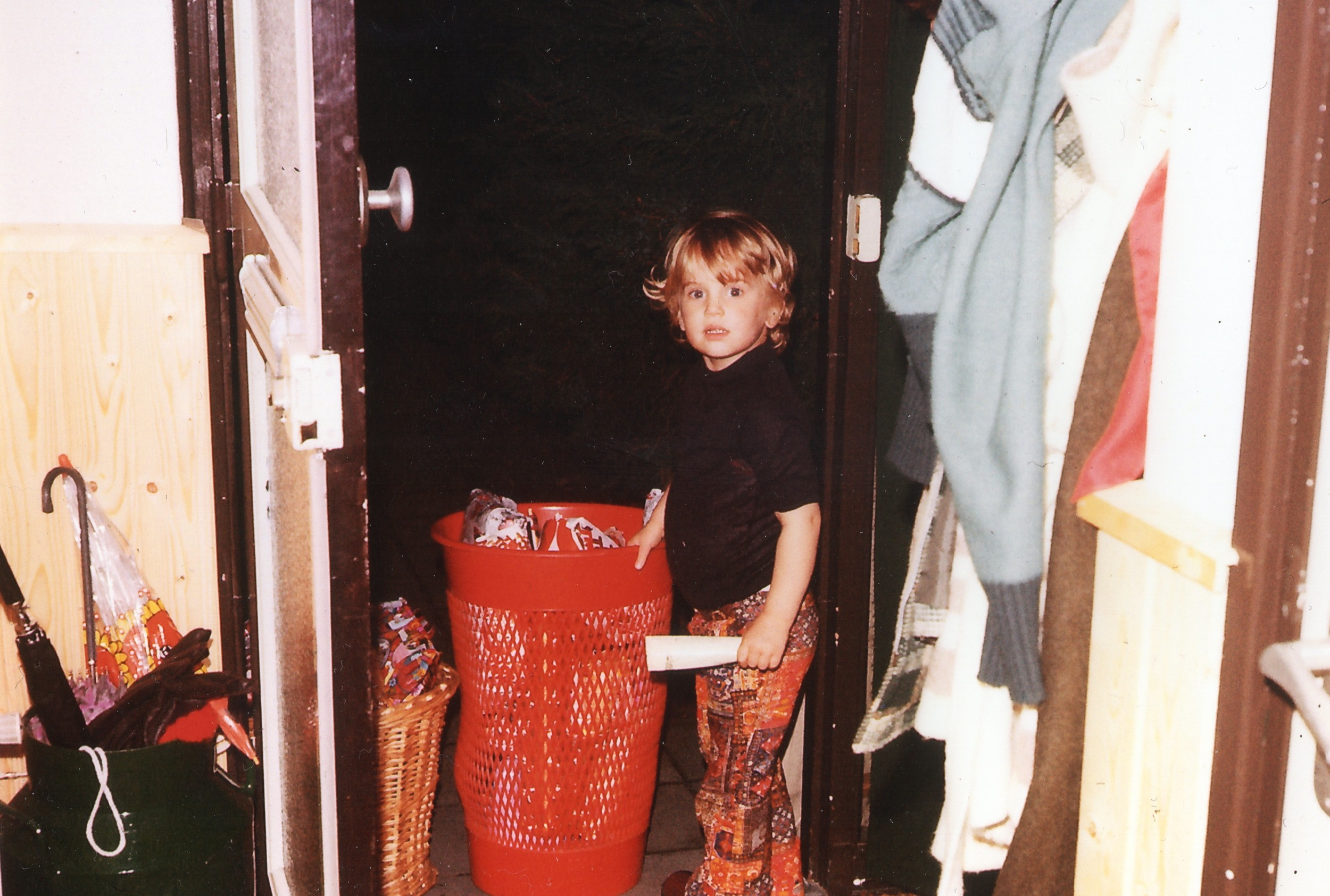 Me dec 5th, 1976. Excited what Sinterklaas brought to me. This year at dec 5th I will be very excited to exhibit in Miami with New York based artist Eric Ginsburg.Celebrating my international debut as an artist. Life is full of surprises.