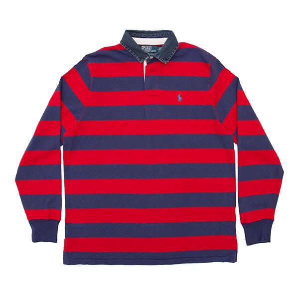 Polo Ralph Lauren   Denim Collar Rugby Shirt  £109