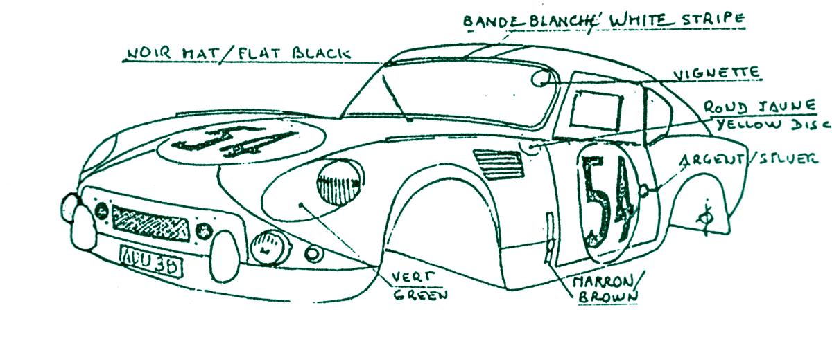 Aston Martin DB4GT Le Mans 1959