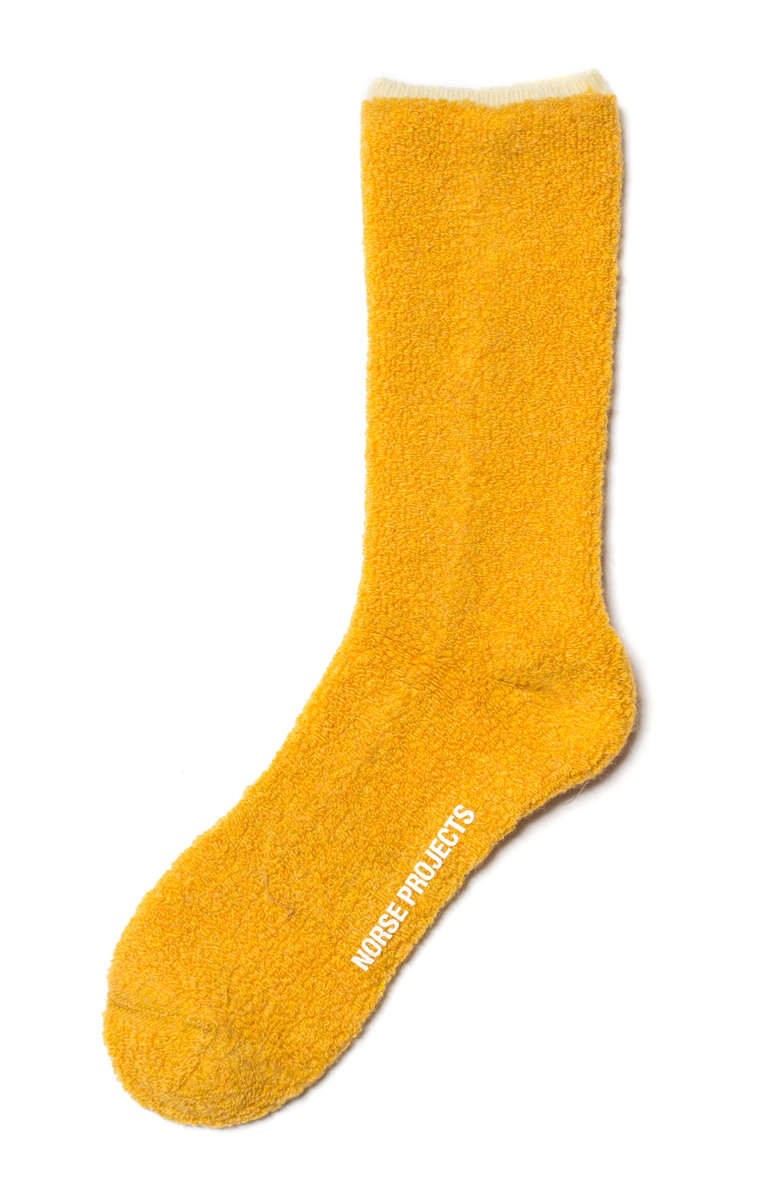 Norse Projects Bjarki Towelling Sock £20