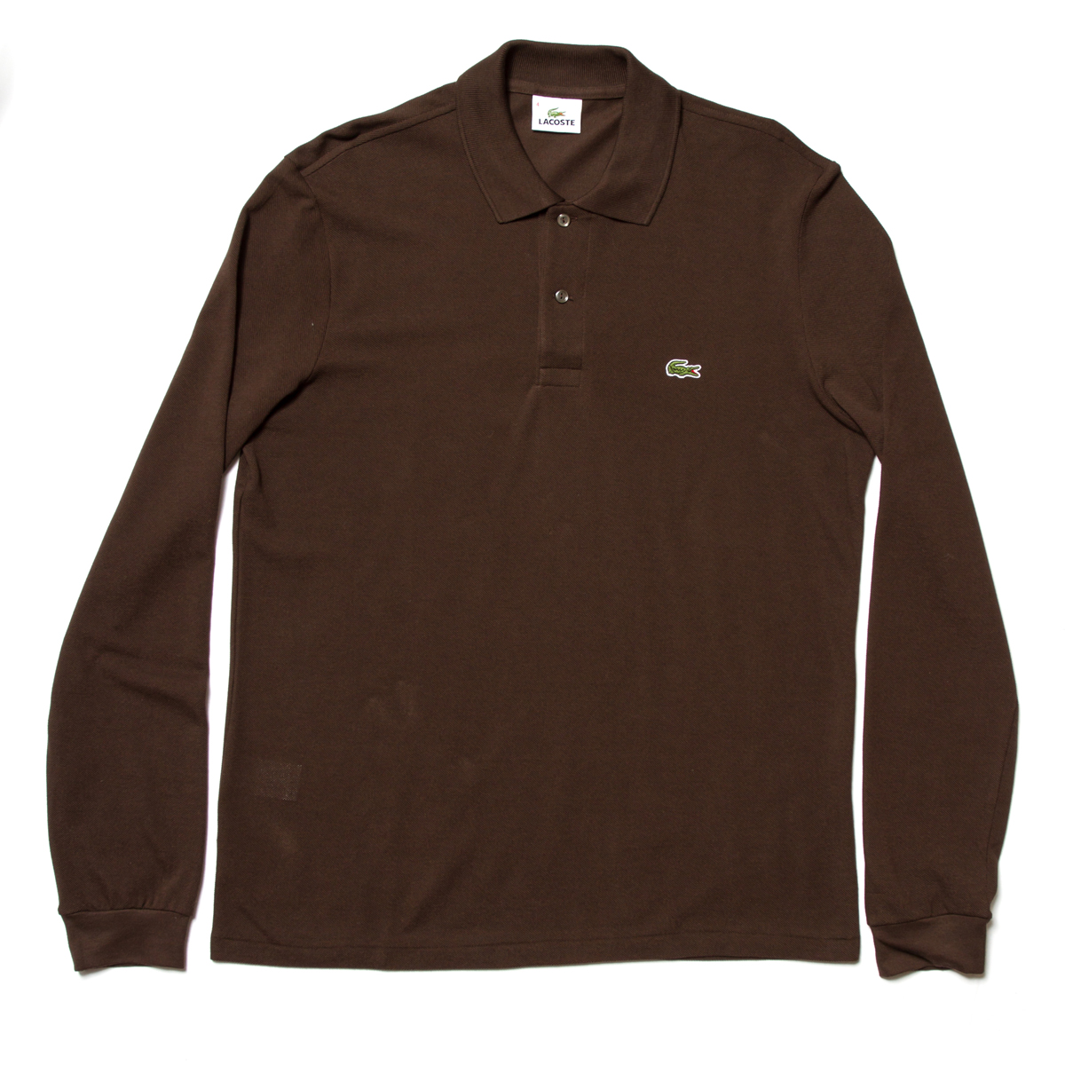 Lacoste Long Sleeved Pique Polo £85