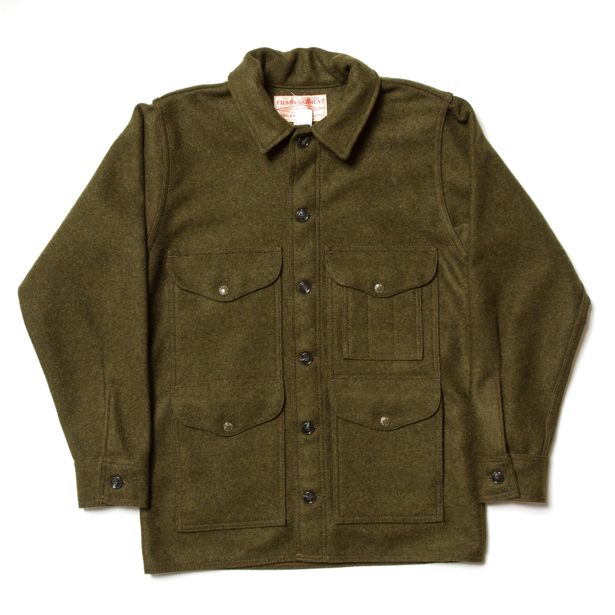 Filson Wool Mackinaw Cruiser £278