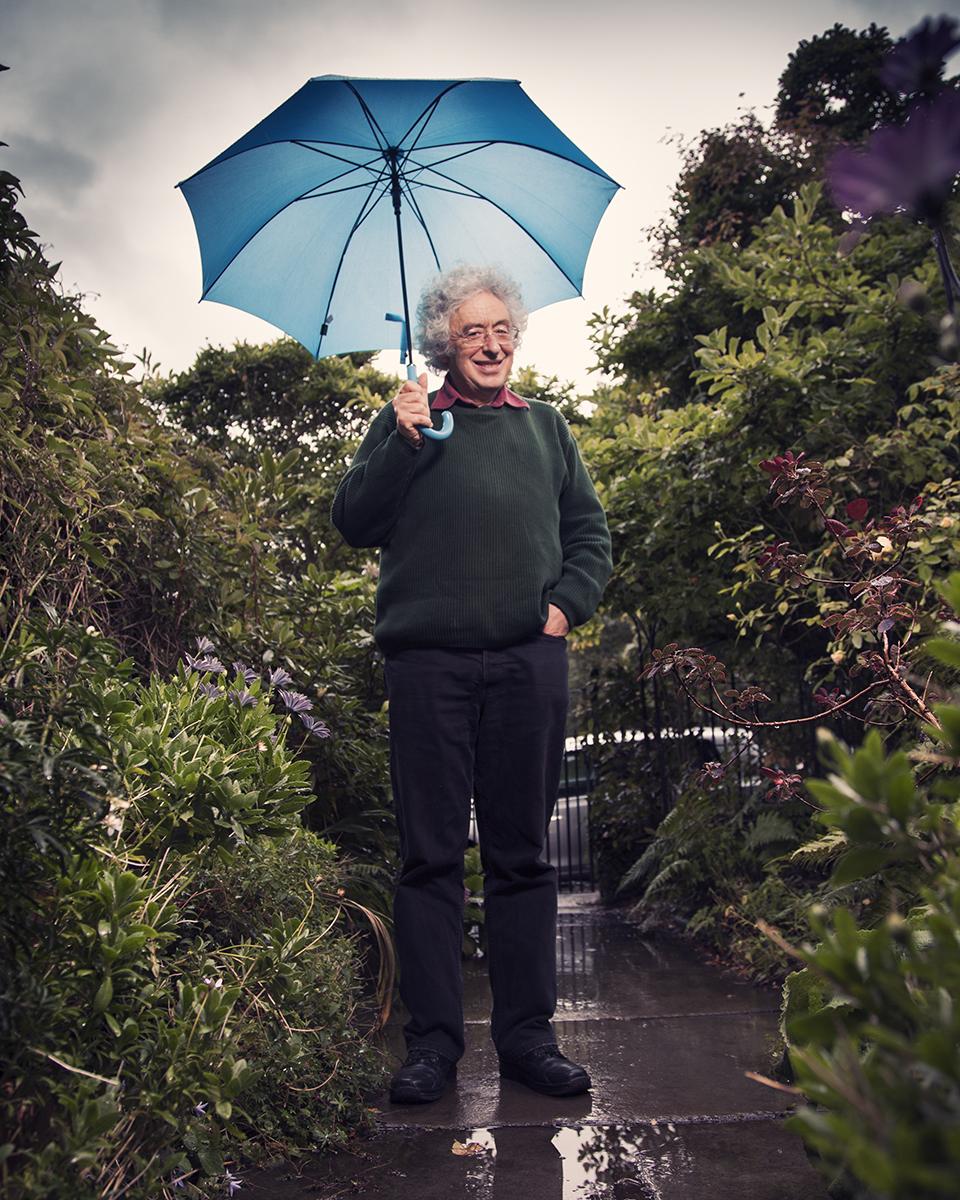 Professor in Mathematics Andrew Ranicki at his home in Edinburgh, for Taz - Die Tageszeitung