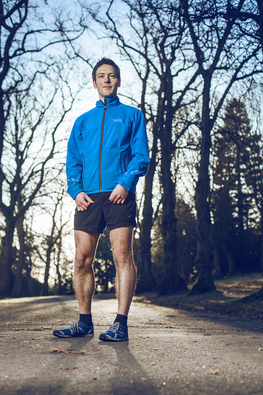 Grant MacDonald in Bellahouston Park, Glasgow. For Runner's World Magazine