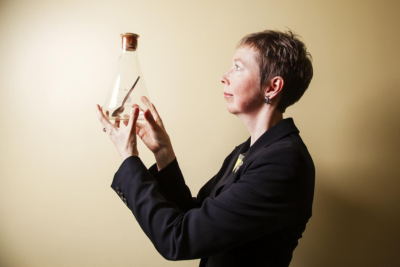Dr Caroline Watt, Koestler Senior Lecturer at Edinburgh Universi