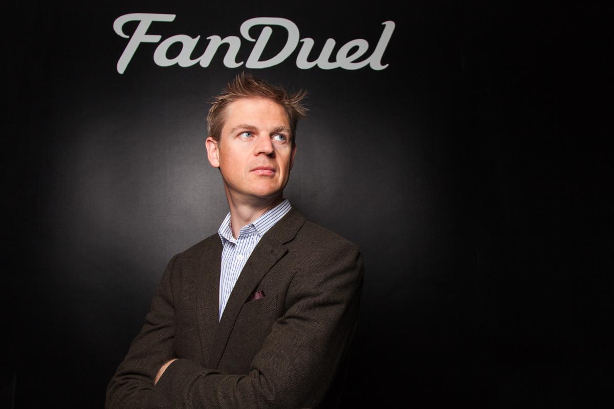 FanDuel CEO & Co-founder Nigel Eccles  in their Edinburgh Offices.