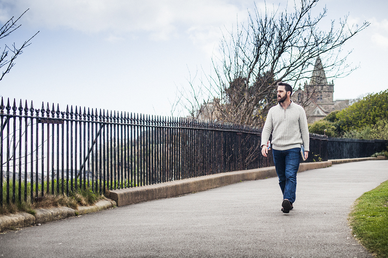 Logan (Mehl-Laituri) Isaac in St Andrews, Scotland for Christianity Today Magazine. 2015