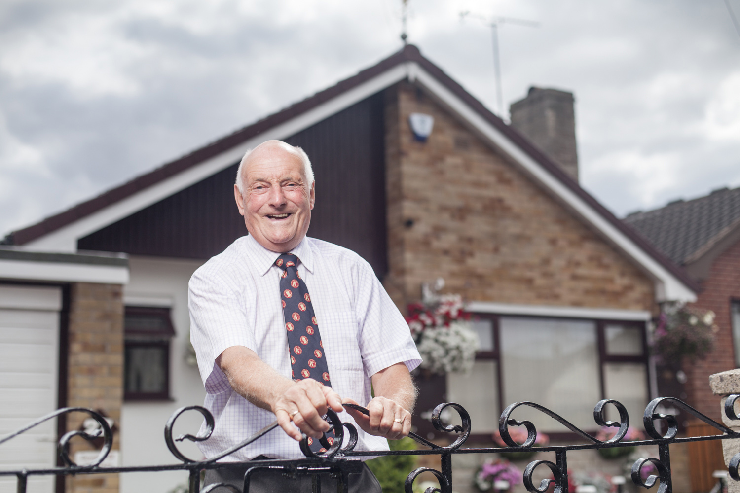 Trevor Jarvis at his home in Skello, Doncaster. 2015