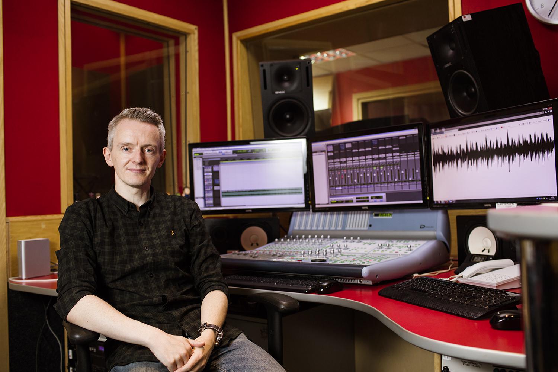Graeme McKellar, Head of Creative at Radio Clyde in Glasgow.