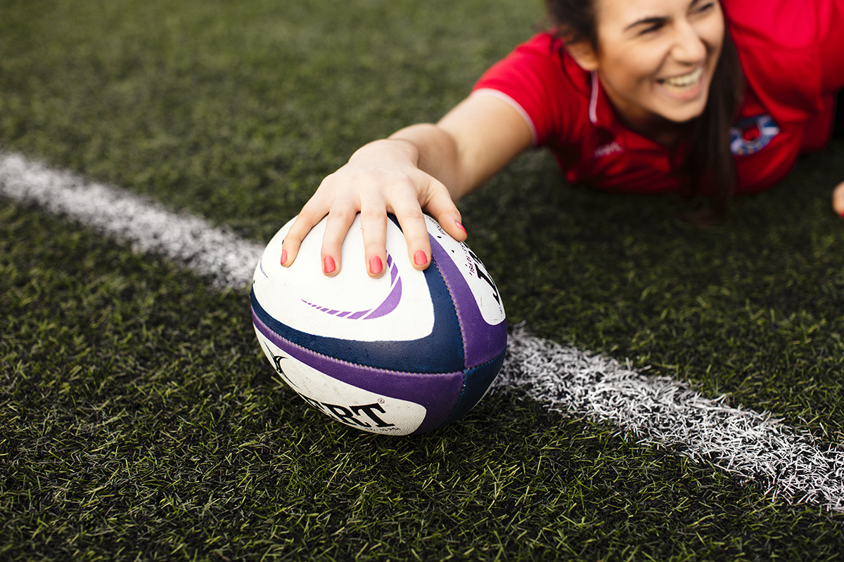 Advertising Photography : Scottish Women's Rugby