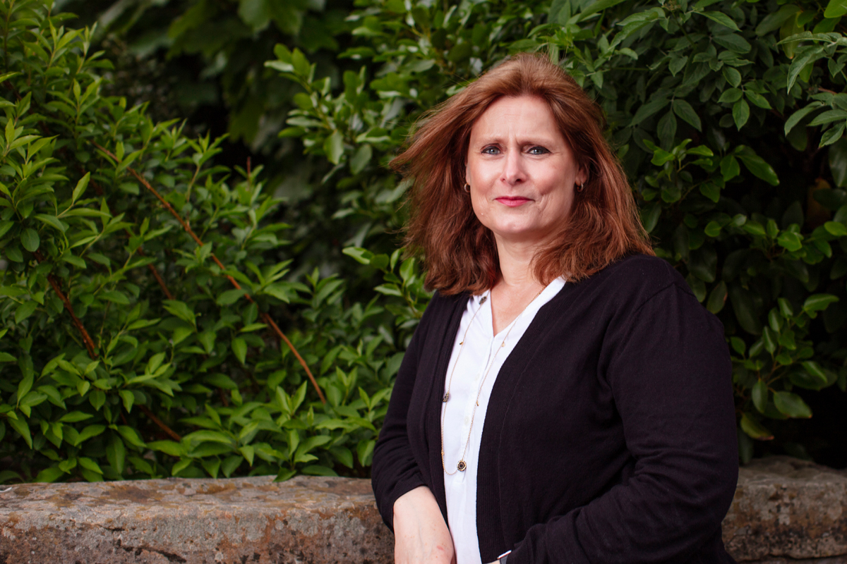 Sarah Brown photographed by Jo Hanley in Edinburgh. May 2018.