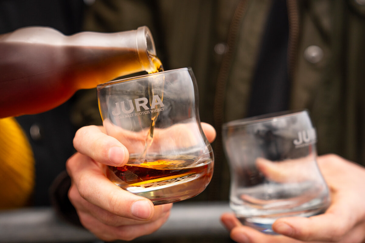 Jura Whisky Time and Tide social media campaign.