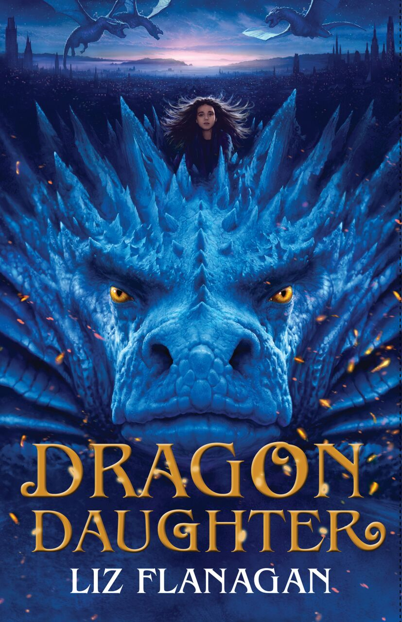 Dragon Daughter HB cover.jpeg artwork by Angelo Rinaldi