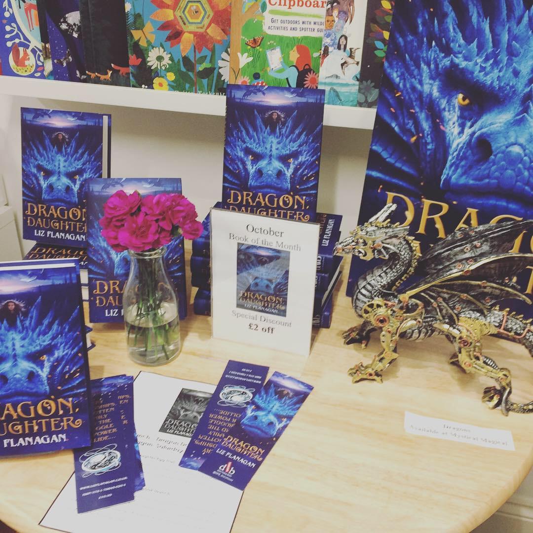 Liz book launch display table.JPG