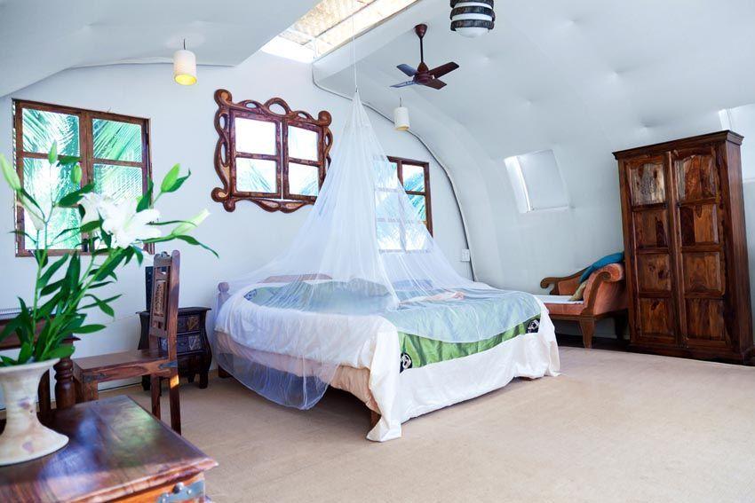 View of bedroom in Mandala villa