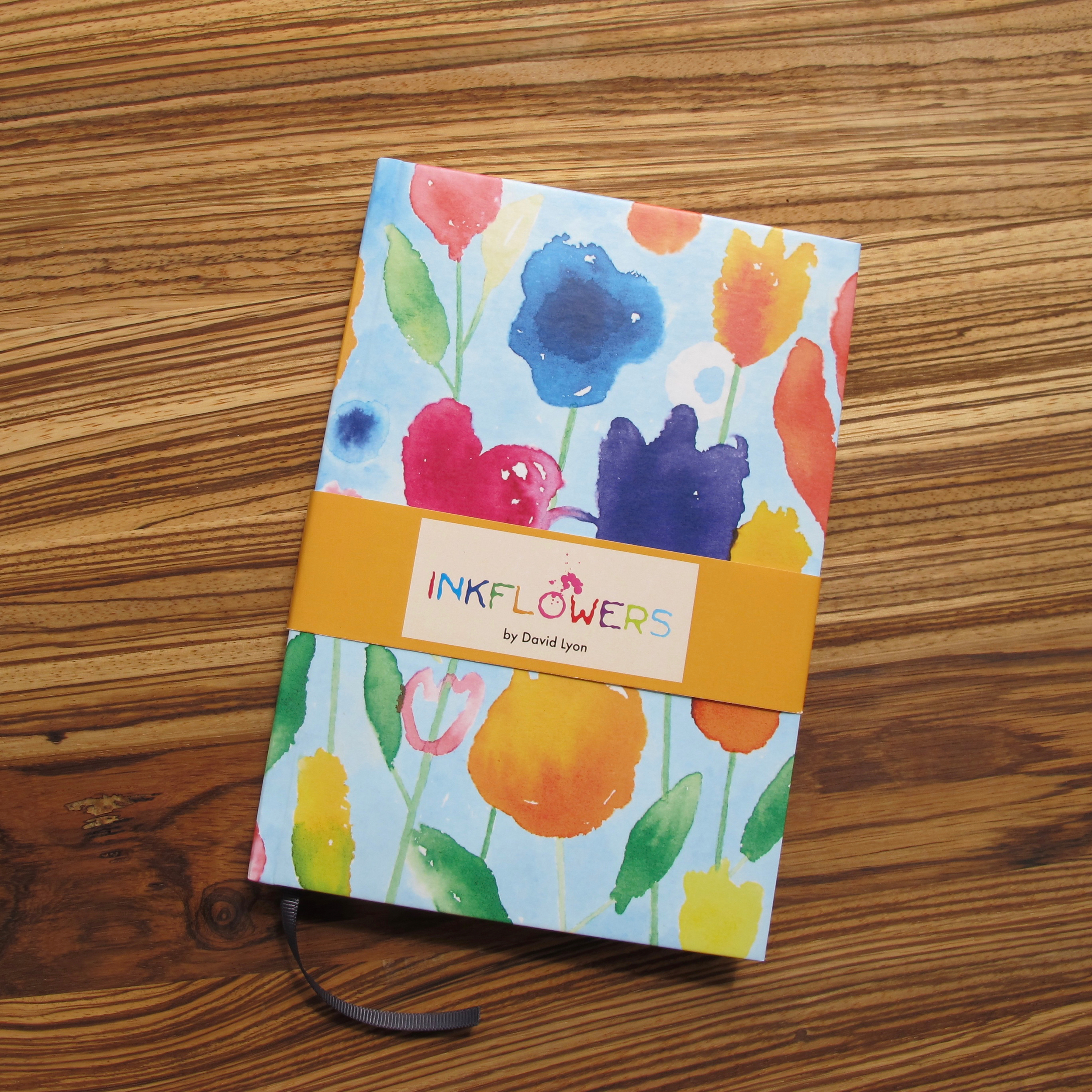 Hardback Journal - Inkflowers