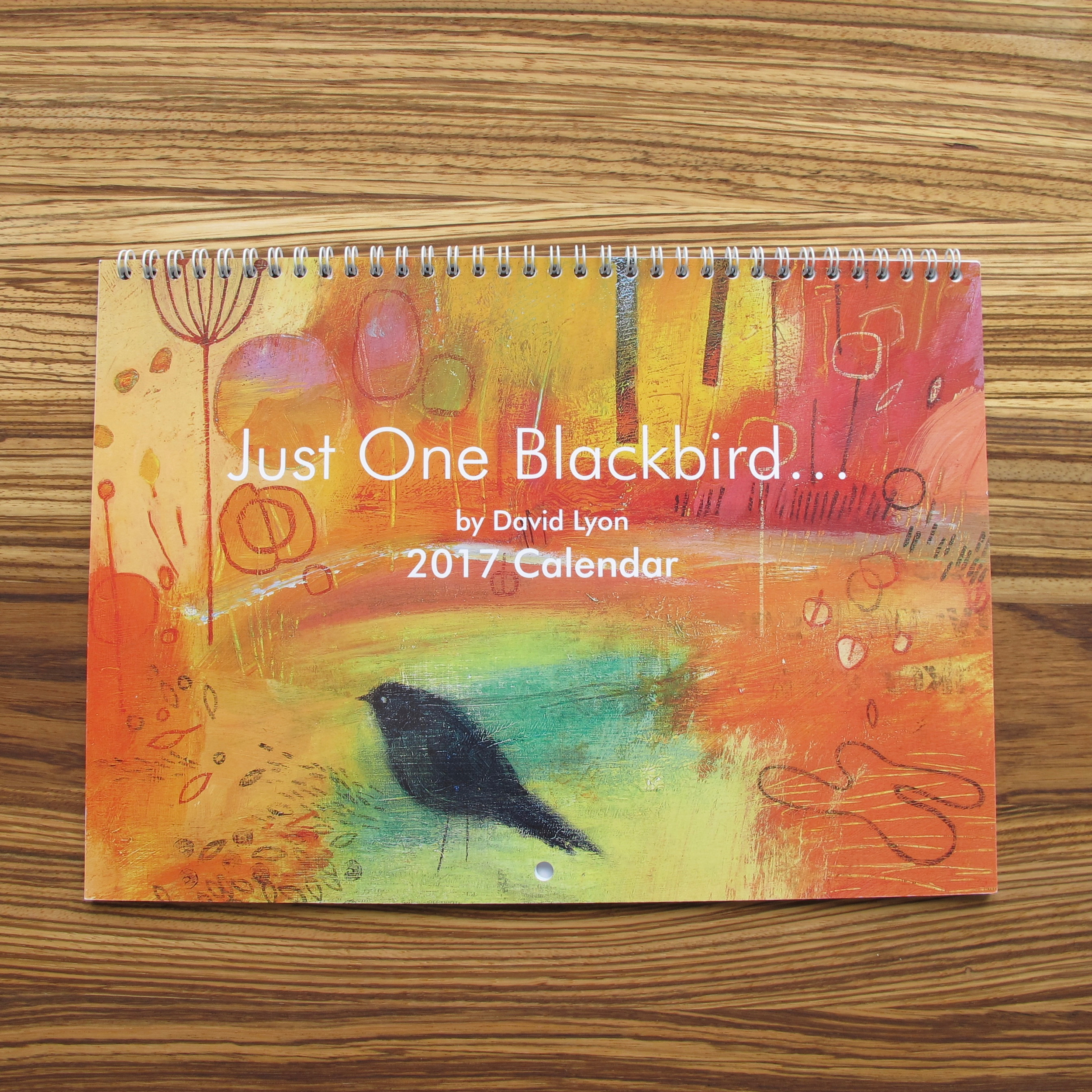 Calendar 2017 - Just One Blackbird