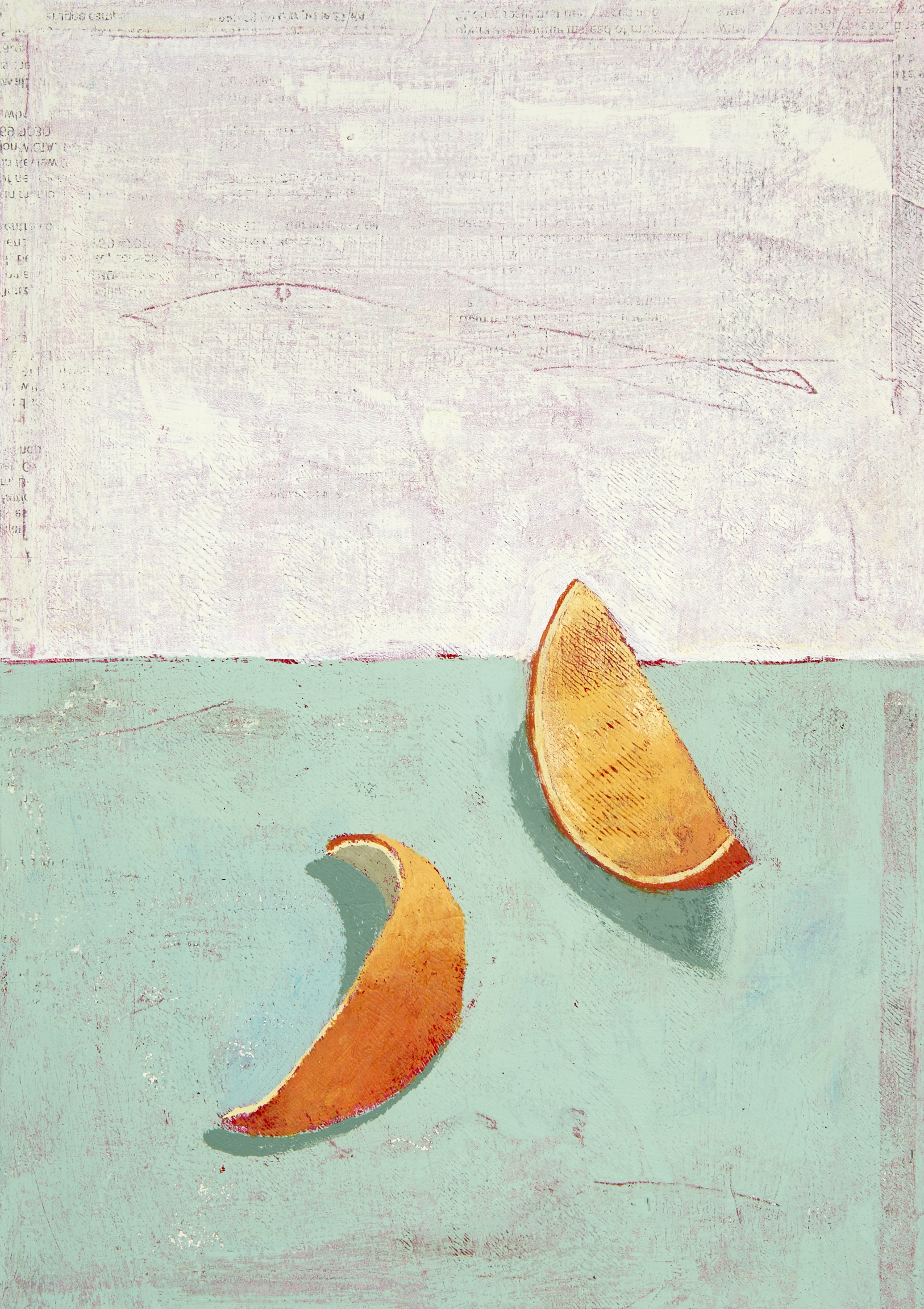 David Lyon Art - Two Orange Peels - 150dpi.jpg