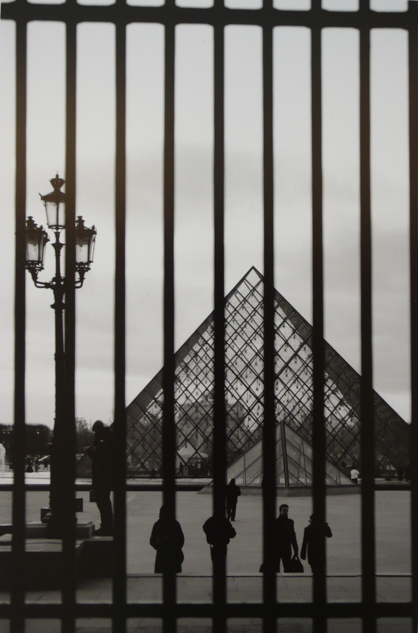 Series of photos were inspired by the contrasting lines in Paris