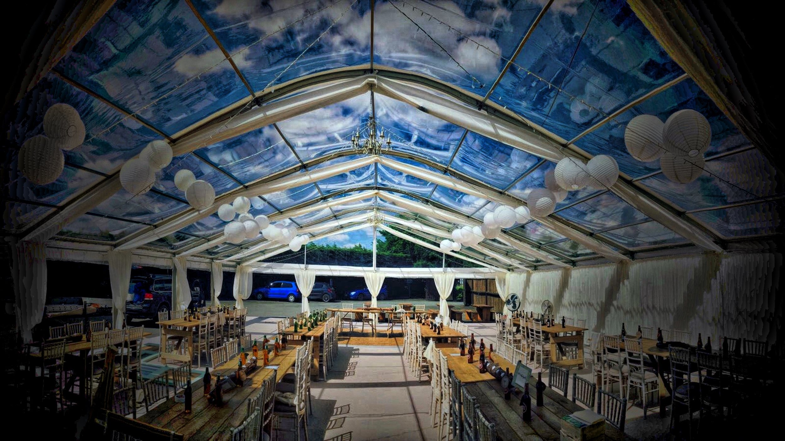 Photo by Acacia Marquees  www.acacia-marquees.co.uk