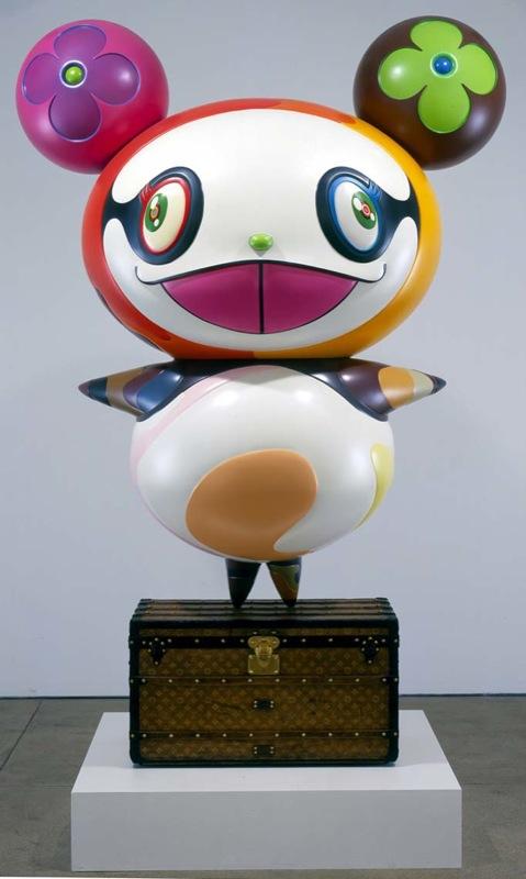 """""""Panda"""" (2003). source: Galerie Perrotin"""