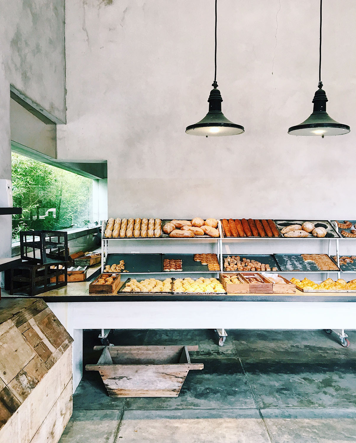 The bakery at La Linda.