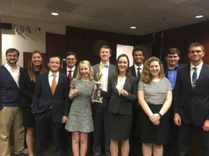Rhodes D Mock Trial Team, coached by Dane Wendell