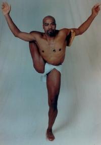 Strong flexible man!