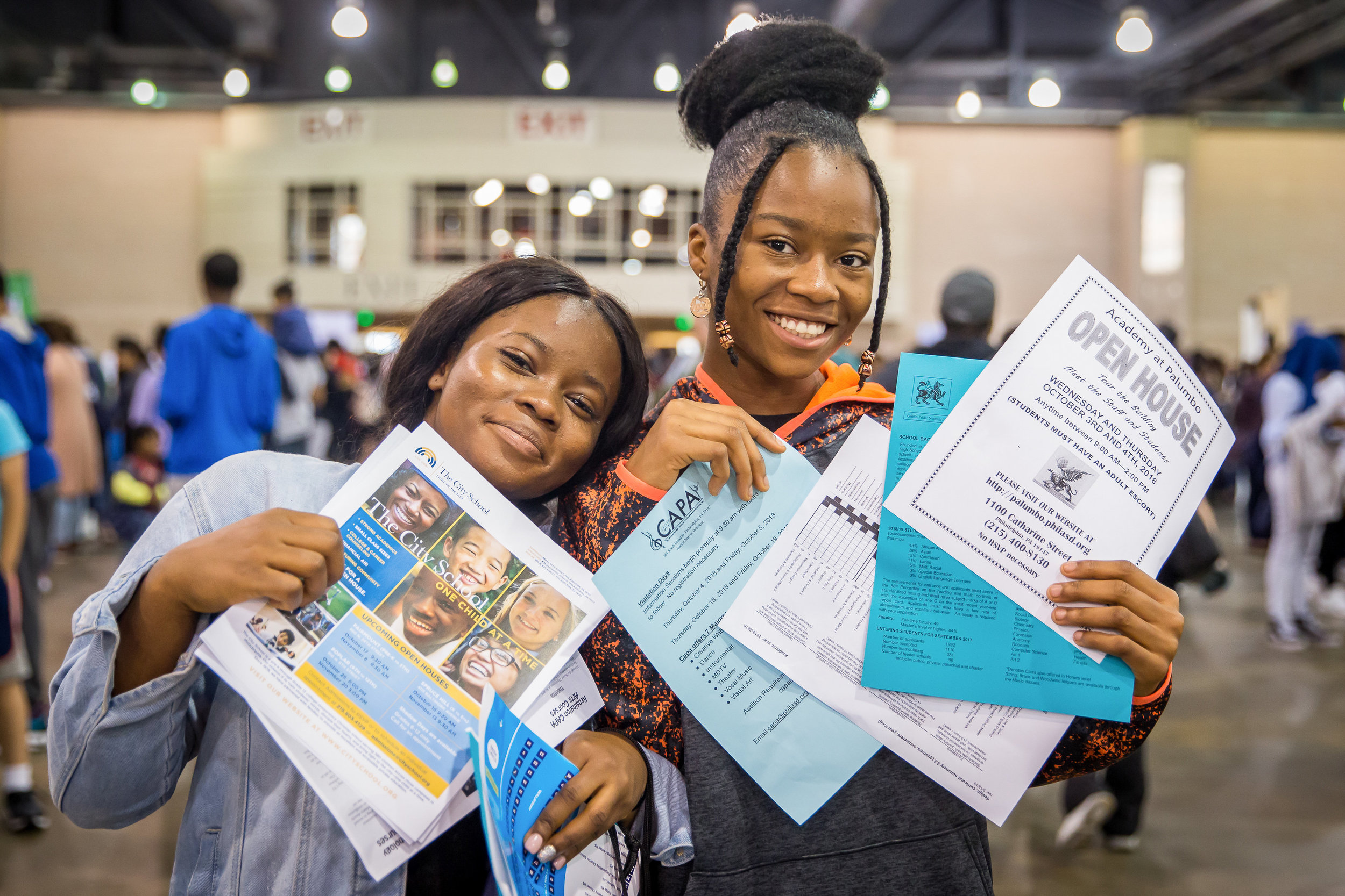 Learn About and Apply to High Schools at the Fair - The Philly High School Fair will take place on Friday, September 20, 2019 from 5PM to 7PM, and Saturday, September 21, 2019 from 10AM to 2PM.We'll see you in September!