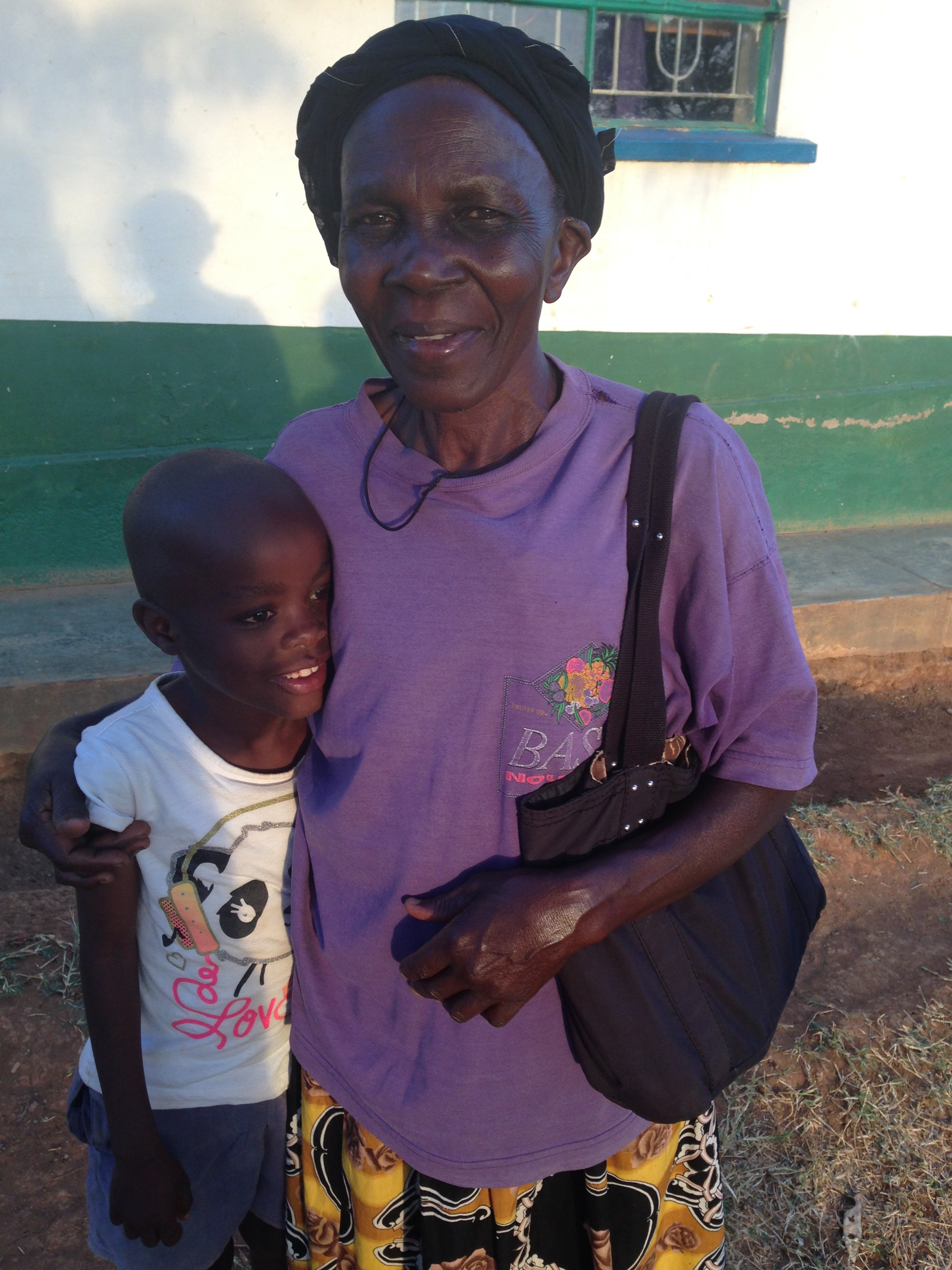 Sammie and Miriam, our Head House Mother