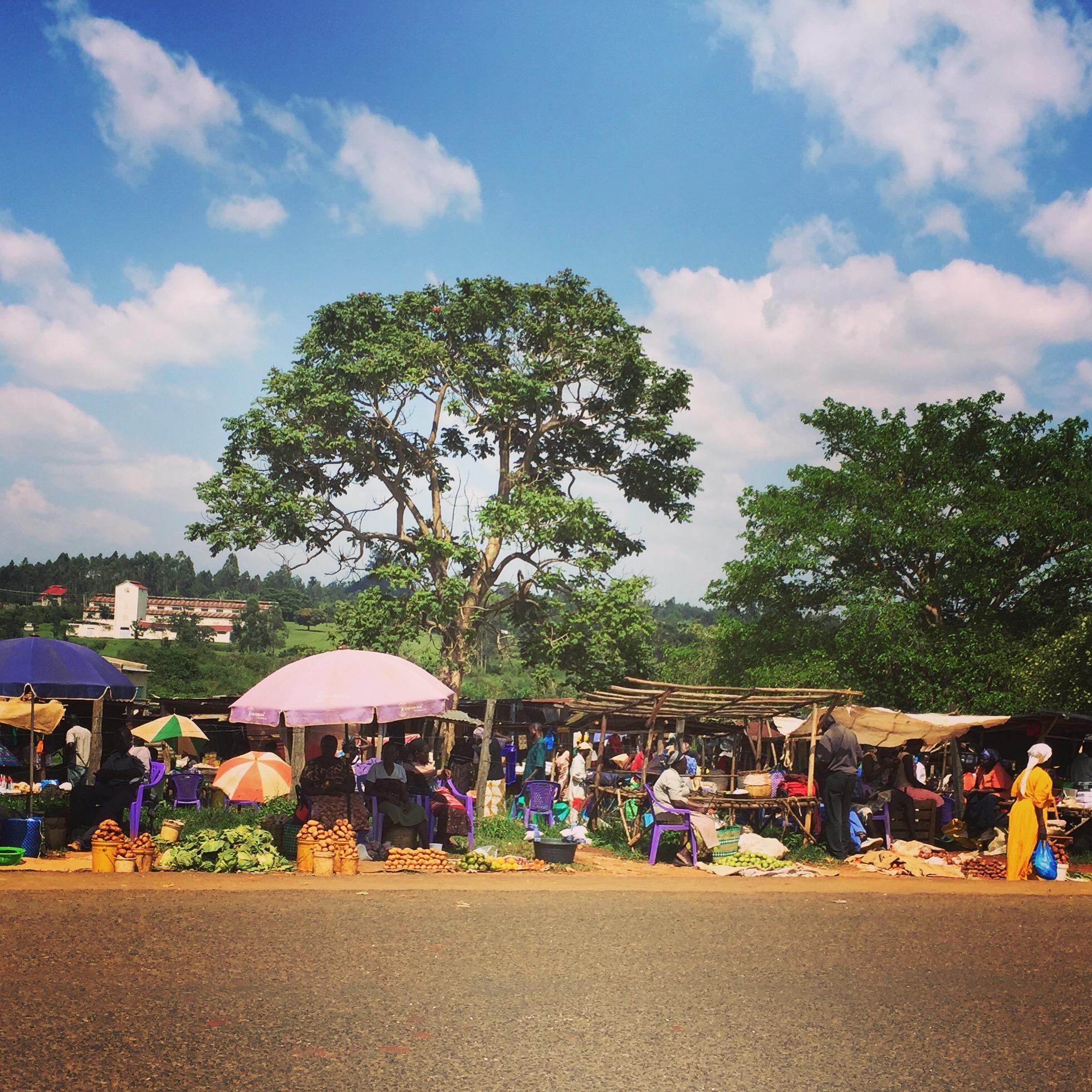 Yala Market-- A nearby local weekly market