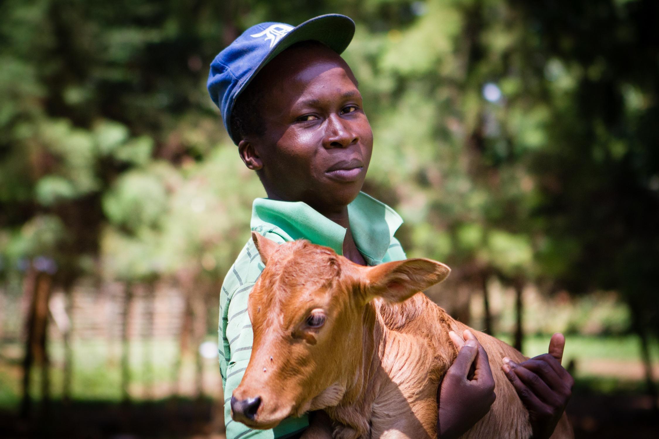 John Mugute Farming/Maintenance (JCO Children's Home)   Based in Kenya