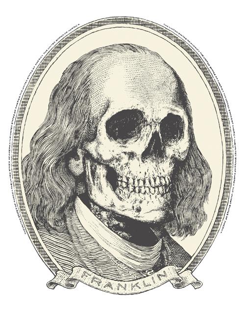 """DEAD WHITE GUY """"FRANKLIN"""""""