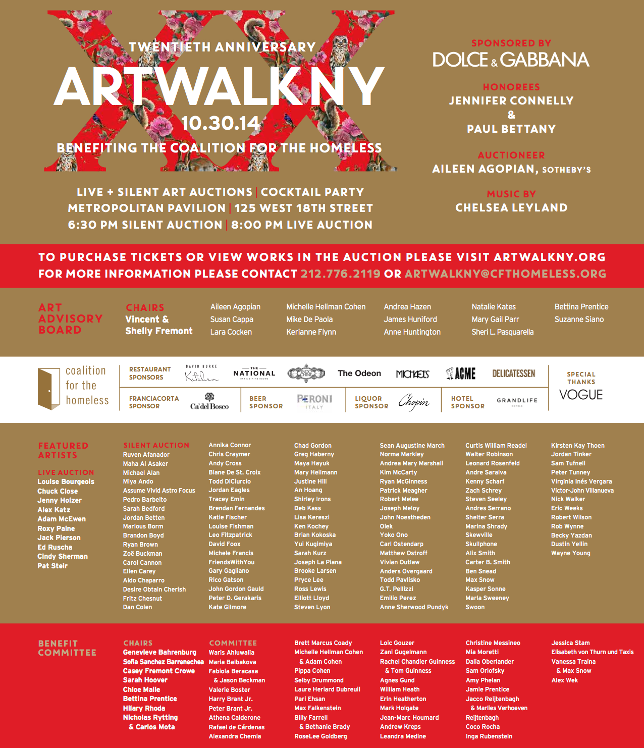 ARTWALKNY 20TH ANNIVERSARY