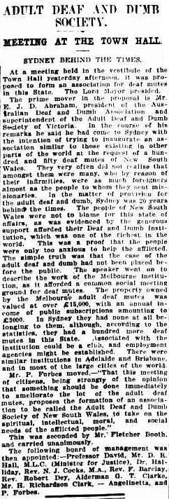 The Sydney Morning Herald, 21 October 1913, p. 10.