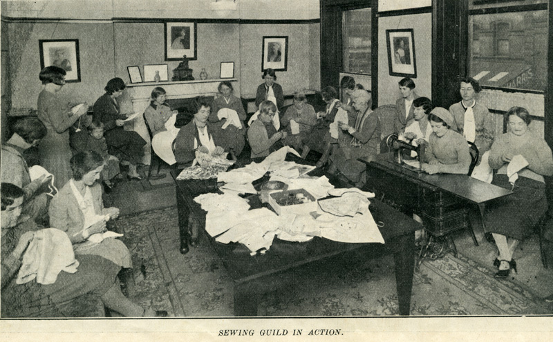Sewing Guild in 1932