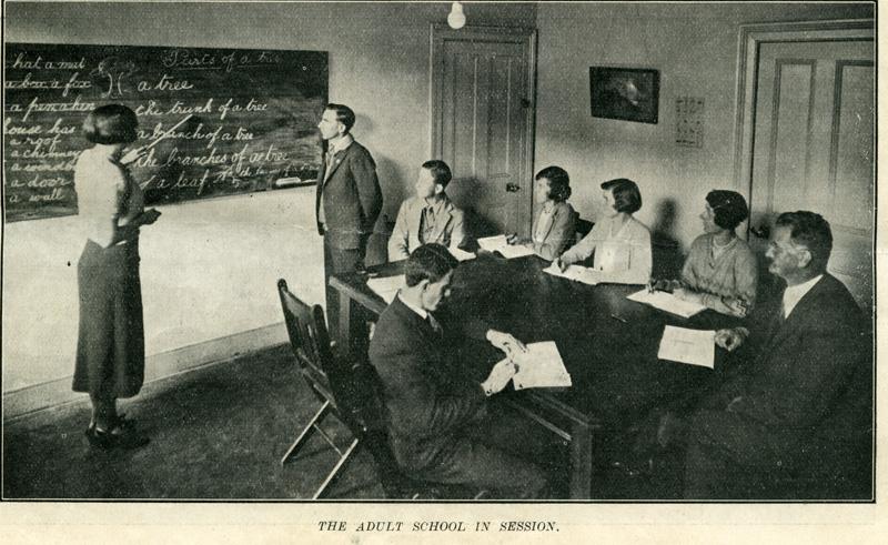Adult Deaf Education class 1932
