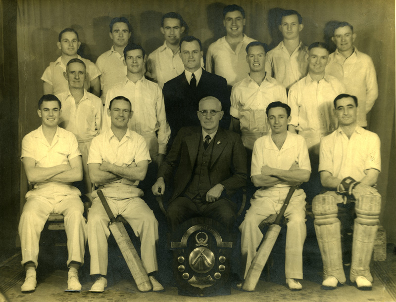 The Deaf Cricket team won the Premiership in the Moore Park Cricket Association in 1942/43