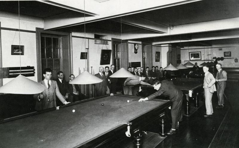 The Billiard Room in 1932