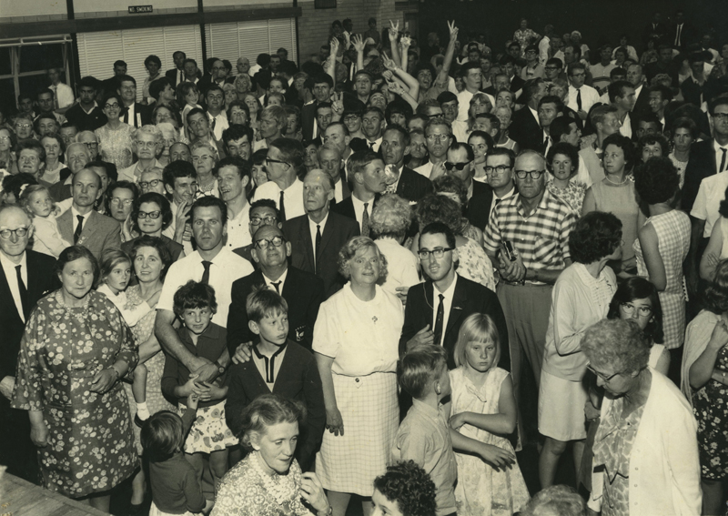 A Deaf Community gathering in the 1960s