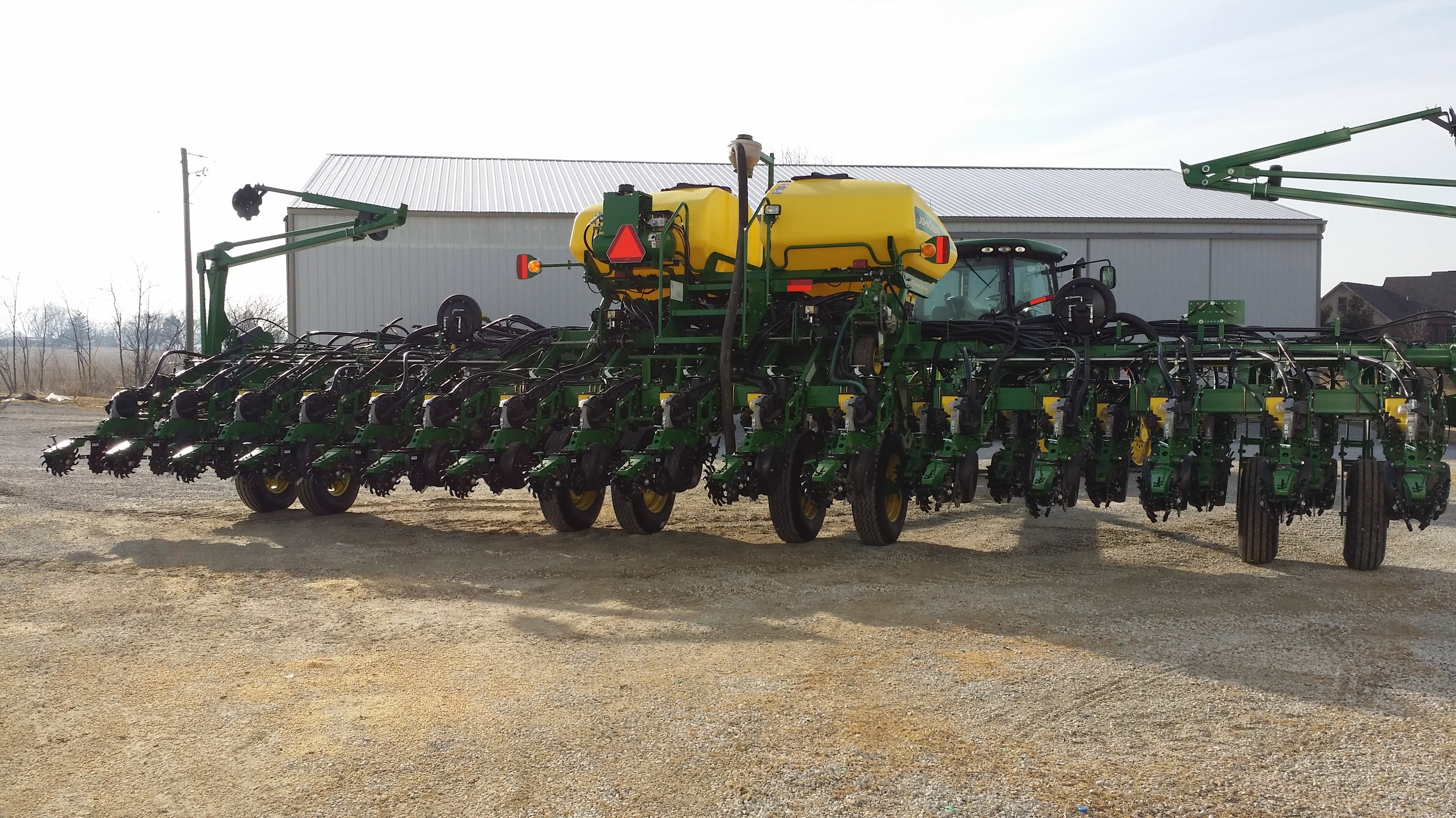 JD 1790 w/ EZ-Offset Twin Row Conversion