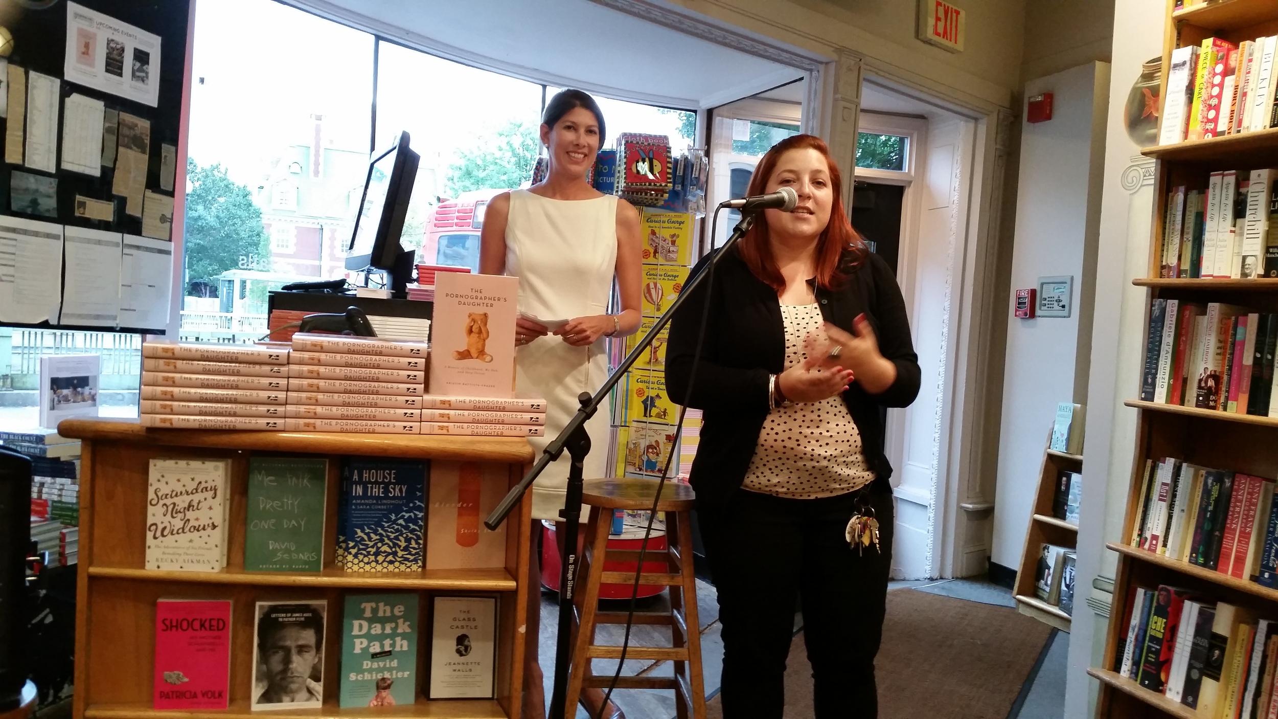Intro by Sarah Baline at Kramers