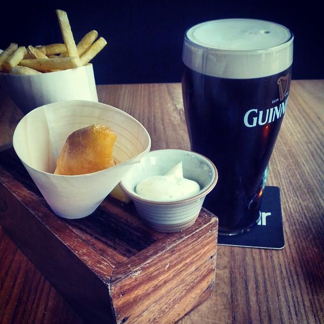 En typisk irländsk hotellmåltid. Helt makalöst gott.