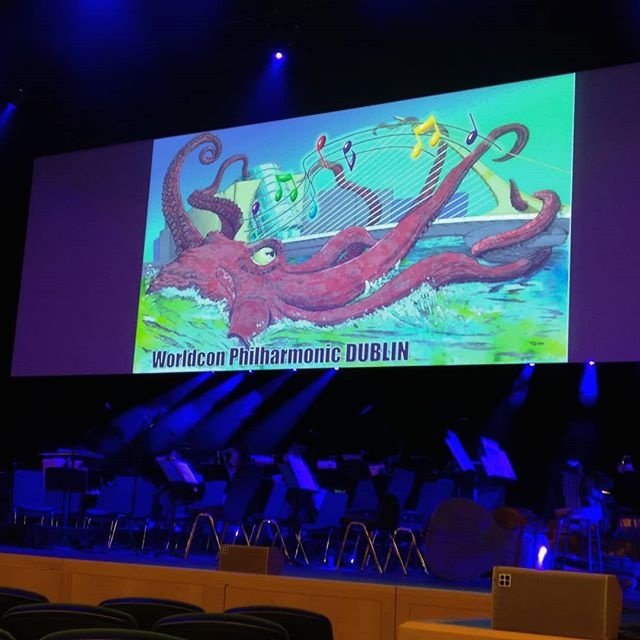 Yesterday's concert by the Worldcon Philharmonic was of course marvelous. Some things are just better when performed live by a full frikkin orchestra.